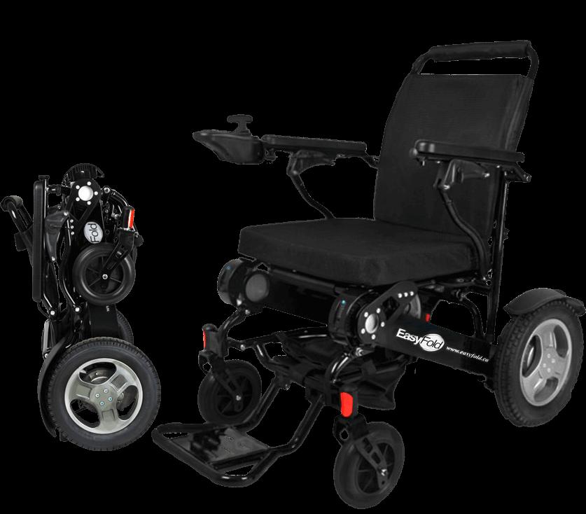 Full view elite model easyfold portable power wheelchair