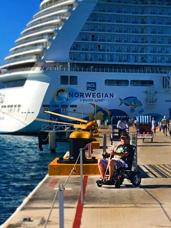 cruise-ship-vacation-power-electric-wheelchair-at-all-inclusive-caribeant