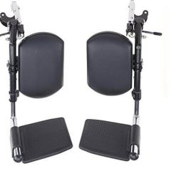 Wheelchair adjustable leg rest