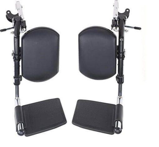 Wheelchair adjustable leg rest