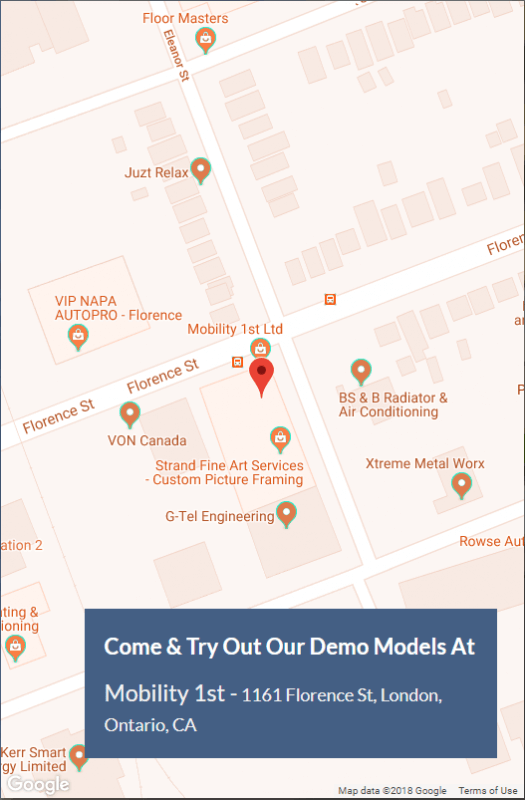 Mobility1st Location Map