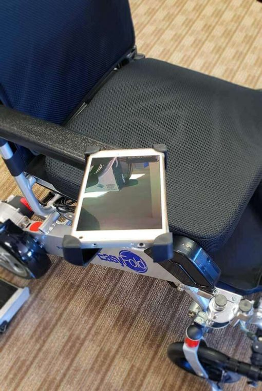 EasyFold Wheelchair cellphone holder