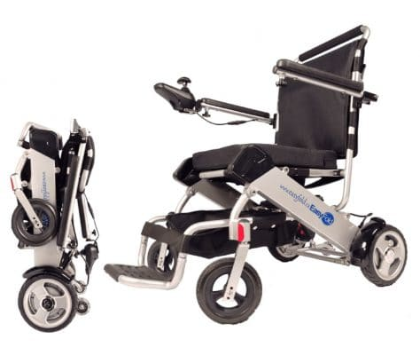 EasyFold standard model electric wheelchair