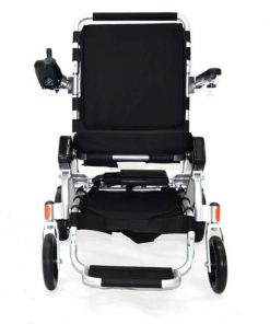 EasyFold standard model electric wheelchair front view