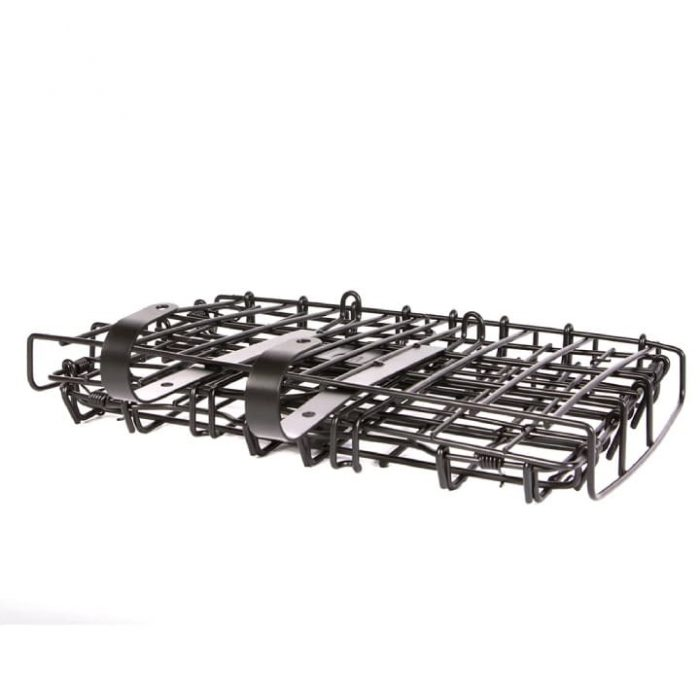 Collapsible Shopping Basket - collapsed