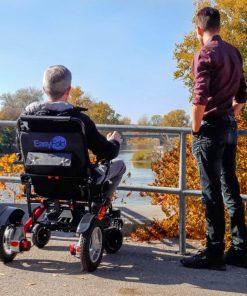 Easyfold portable & foldable powerchair